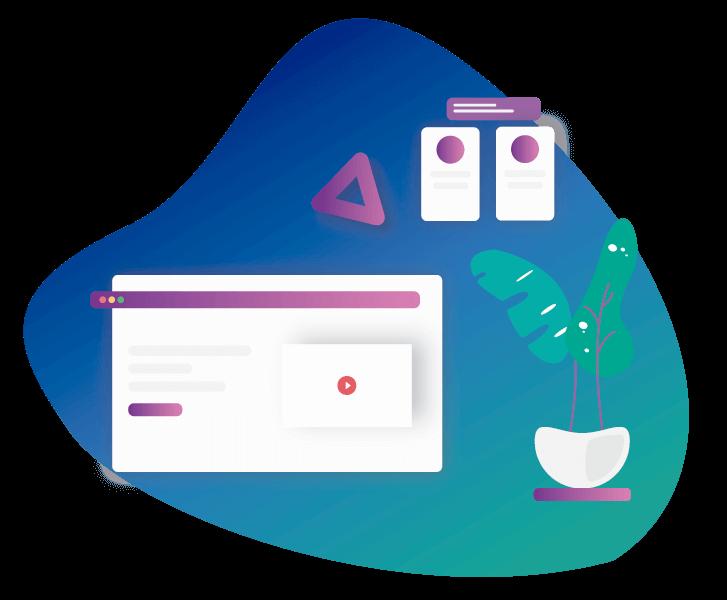 Ilustraçao de um browser